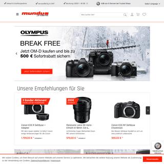 Der Kamera und Video Onlineshop - Ihr Fotofachgeschäft in Meppen - Foto Mundus