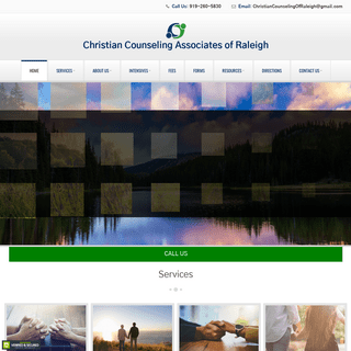 Home Page - Christian Counseling Associates of Raleigh