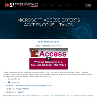 ArchiveBay.com - microsoftaccessexpert.com - Microsoft Access Experts - Microsoft Access Professional - Access Consultants