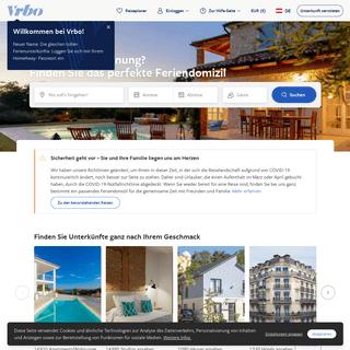 Vrbo - Buchen Sie Ihre Ferienwohnung- Wohnungen, Bungalows & mehr