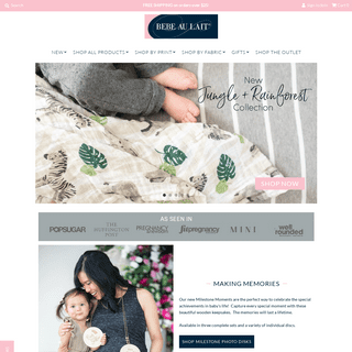 Bebe au Lait - Breastfeeding, Baby Nursery & On-the-Go Products
