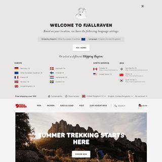 Fjällräven - Clothing & Outdoor Equipment