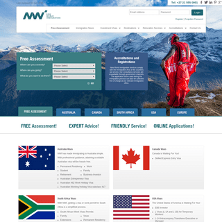 New World Immigration - leading provider of immigration advice and work permit services in South Africa and Australia