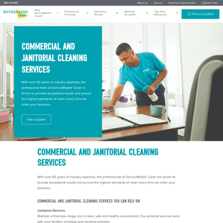 Professional Commercial Cleaning Service - ServiceMaster Clean