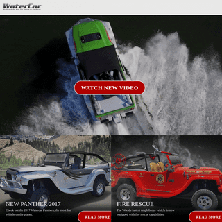 WaterCar - Manufacturer of World's Fastest Amphibious Vehicles