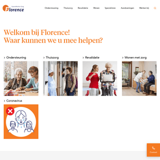 Gezondheid en zorg voor ouderen - Den Haag e.o. - Florence