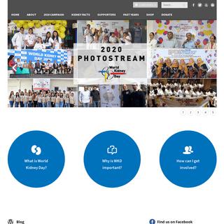 Homepage - World Kidney Day