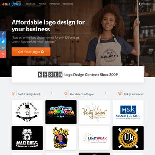 Affordable Logo Design For Your Business - 48hourslogo.com