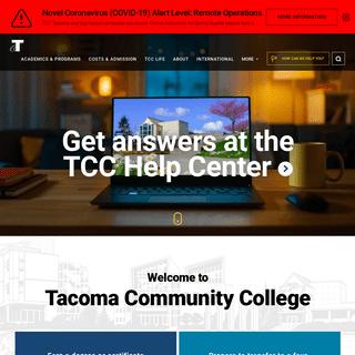 Home - Tacoma Community College