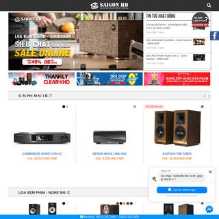 Siêu thị thiết bị nghe nhìn số 1 Việt Nam - SAIGON HD