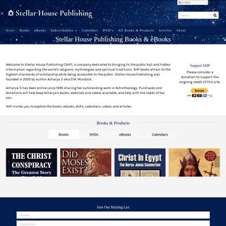Stellar House Publishing – Specializing in Archaeology, History, Astrotheology, Mythology and Religion