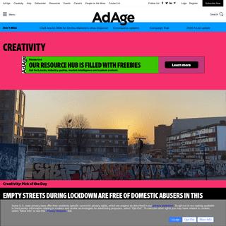 ArchiveBay.com - creativity-online.com - The Best In Advertising, Design & Digital - Creativity Online