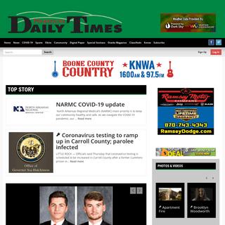 harrisondaily.com - Harrison, Arkansas - Harrison Daily Times