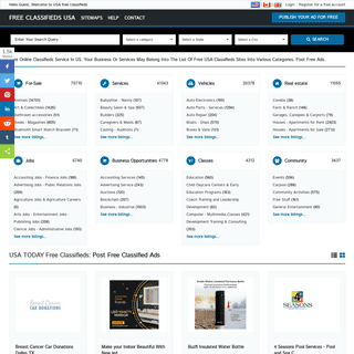 Free Classifieds USA online Ads