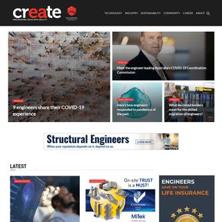 Home - Welcome - Create