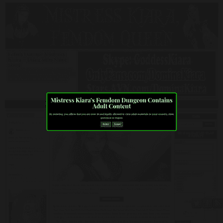 ArchiveBay.com - mistresskiarasdungeon.com - Femdom Domina Kiara- Blackmail Findom & All Things Dominance