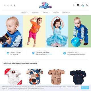 Najlepsze ubranka niemowlęce i dziecięce - SzipSzop.pl