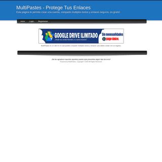 ArchiveBay.com - multipastes.com - MultiPastes - Protege Tus Enlaces