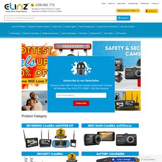 Car DVD Players, Reverse Camera Kit, Car Entertainment System - Elinz