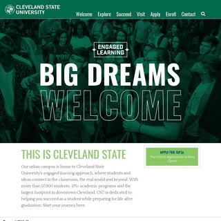 Cleveland State University - Undergraduate Admissions