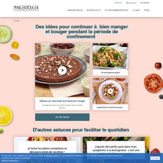 Accueil - Manger Bouger