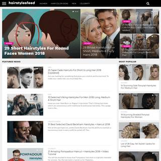 HairstylesFeed- Styles, Cuts & Colors