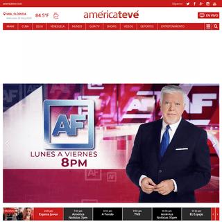 ArchiveBay.com - americateve.com - Home - América TeVé Miami, Entretenimiento y Noticias