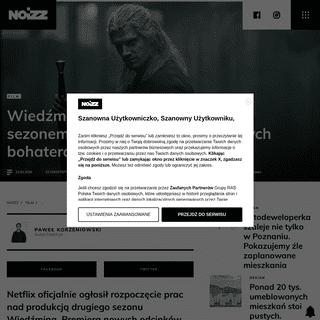 ArchiveBay.com - noizz.pl/film/wiedzmin-powraca-netflix-oglosil-rozpoczecie-produkcji-i-przedstawil-nowych-aktorow/p4glygq - Wiedźmin powraca. Netflix ogłosił rozpoczęcie produkcji i przedstawił nowych aktorów - Noizz