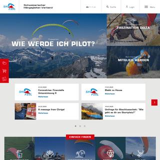 Home - SHV-FSVL - Schweizerischer Hängegleiter Verband