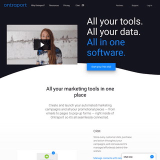 Ontraport - The Only Software That Turns Your Business On