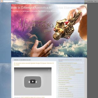 Bajo la Cobertura Apostolica Ministerios Ebenezer