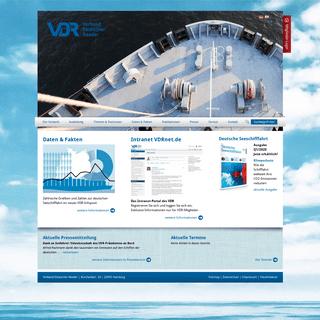 ArchiveBay.com - reederverband.de - Verband Deutscher Reeder- Startseite