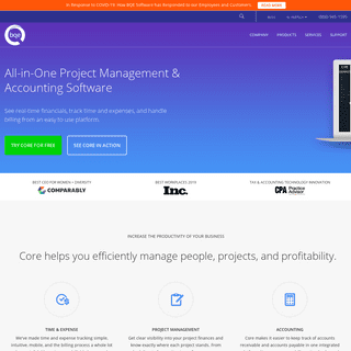 BQE Software - Business Management for Professional Services Firms