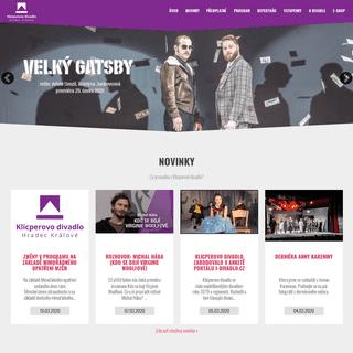 Oficiální stránky - Klicperovo divadlo