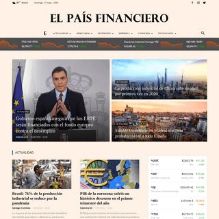EL PAÍS FINANCIERO - Noticias económicas y financieras