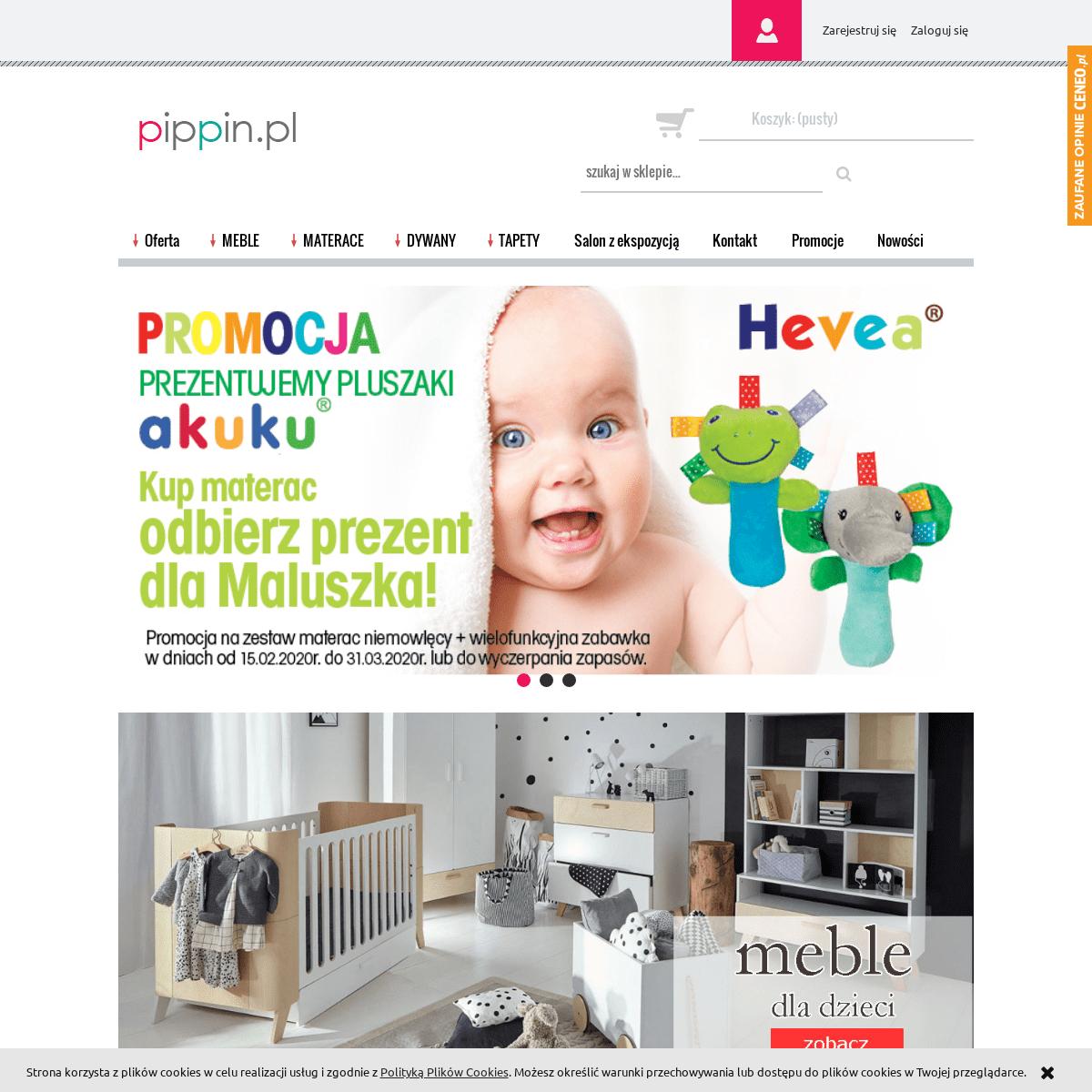 pippin.pl - Meble dziecięce i młodzieżowe - Sklep