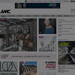 AMC architecture - la sélection des réalisations et concours, participez aux débats