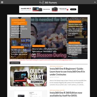 ArchiveBay.com - 360rumors.com - Best 360 Camera Reviews & Deals - VR Headset Reviews - 360 Rumors