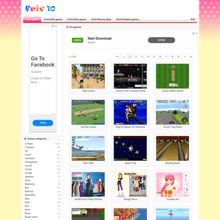 Friv - Friv 10 Online games