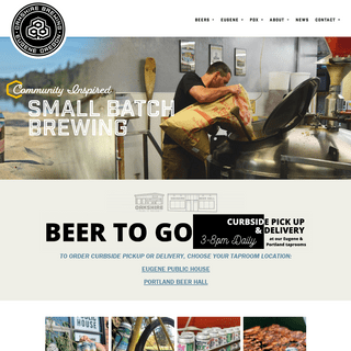 Small Batch Brewing - Oakshire Brewing