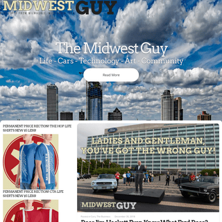 The Midwest Guy - Life - Cars - Technology - Art - Community