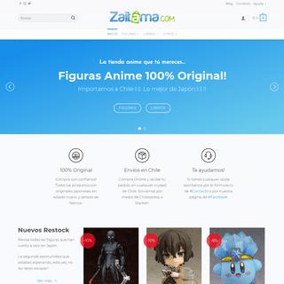 ▷ Zaitama - La mejor tienda Anime en Chile y Latinoamerica