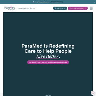 ParaMed - Home Health Care Services