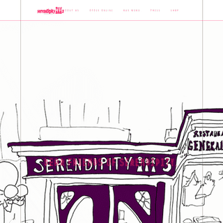 Serendipity 3 - The Ice Cream Destination For Celebrities and Tourists