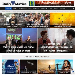 Daily Movies - Toute l'actualité du cinéma en Suisse