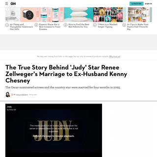 Is 'Judy' Star Renée Zellweger Married- Inside Her Relationship With Ex-Husband Kenny Chesney