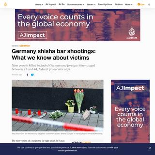 Germany shisha bar shootings- What we know about victims - Germany News - Al Jazeera