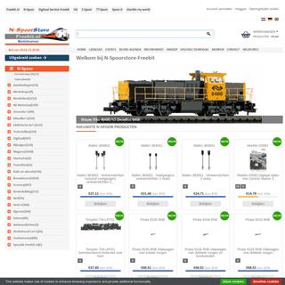 N-Spoorstore-Freebit.nl heeft het grootste assortiment N-Spoor op voorraad!