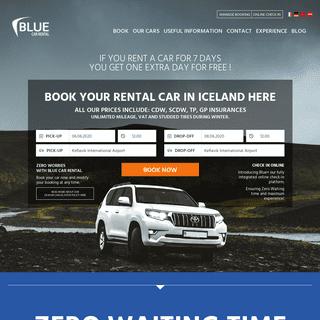 Car rental in Iceland - Rent a car at KEF airport or in Reykjavik