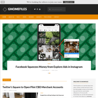 GnomeFiles - The latest news in the Tech world